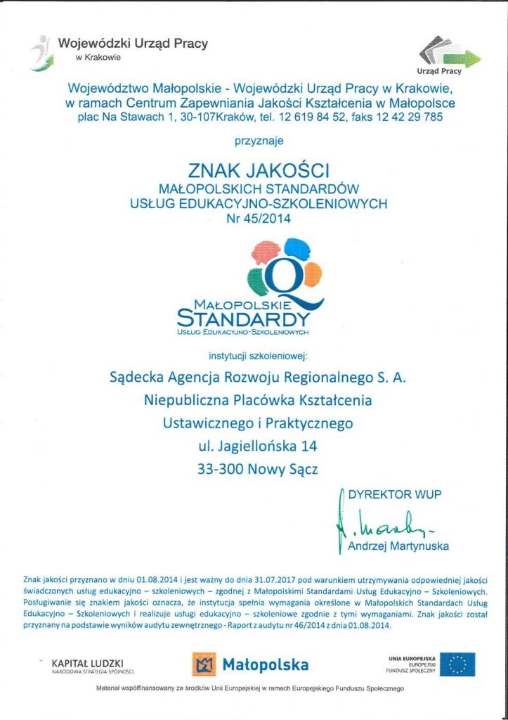 certyfikat-znakjakosci