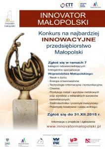 Innovator_Malopolski_-_Plakat